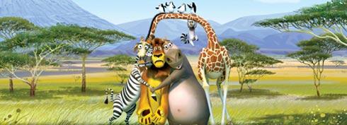 Fond d'écran Madagascar Freebox Révolution
