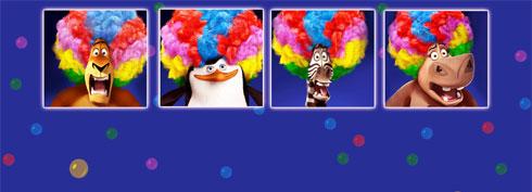 Fond d'écran Madagascar 3 Freebox Révolution