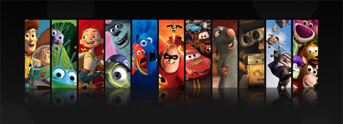 Fond d'écran Pixar Freebox Révolution