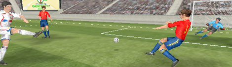 3D Virtual Football Replay