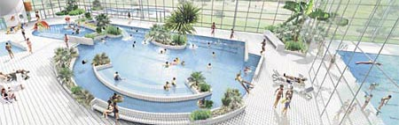 Vid o du centre aquatique d 39 aurillac dzigue for Cash piscine aurillac
