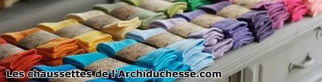 Les chausettes de l'Archiduchesse.com