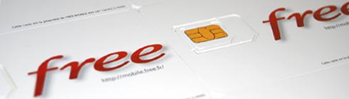 Configuration du téléphone Mobile Free