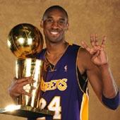 Kobe Bryant MVP des finales NBA