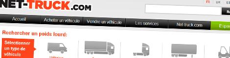 V3 pour le spécialiste du camion d'occasion