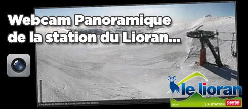Webcam de la station de ski du Lioran