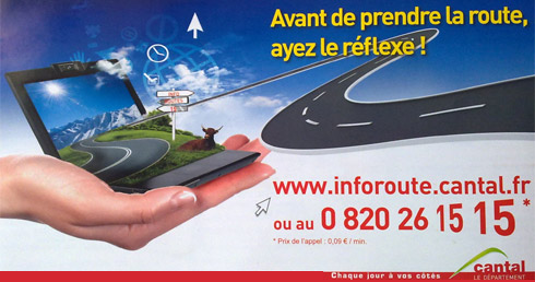 Info route Cantal