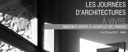 Visitez une maison d'architecte by l'Atelier Simon Teyssou