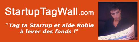 Tag ta startup et aide Robin à lever des fonds !