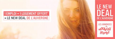 [billet sponsorisé] Le New Deal de l'Auvergne