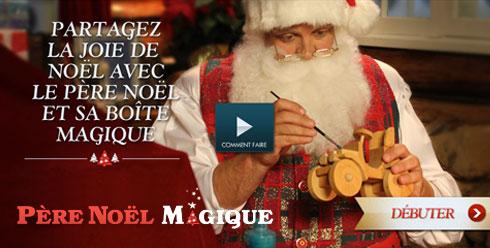 Vous avez reçu un message vidéo du Père Noël