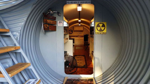 Un bunker de luxe pour la fin du monde