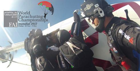 Parachutisme : L'aurillacois Nicolas RATIER est champion du monde
