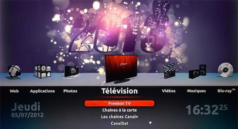 Fond d'écran Freebox pour nouvel an 2013