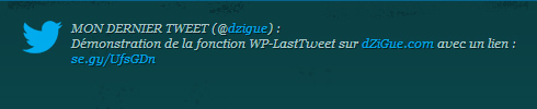 Intégrer Twitter sur WordPress