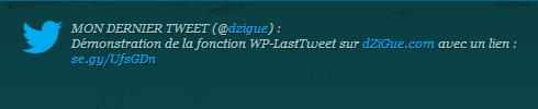 Intégrer Twitter sur WordPress via php