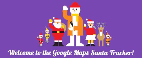 Suivre le Père Noël sur Google Maps