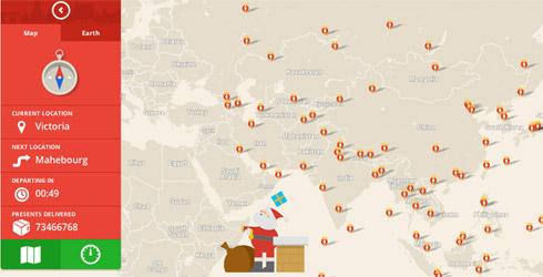 GoogleSanta Tracker