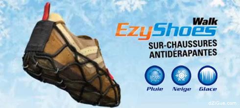 EzyShoes sur-chaussures antidérapantes