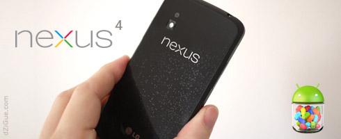 J'ai commandé le Nexus 4 !