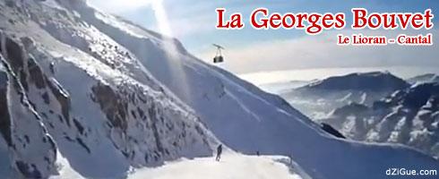 Piste Georges Bouvet du Lioran