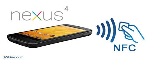 Nexus4 et NFC