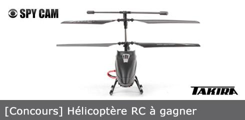 Gagner un hélicoptère RC