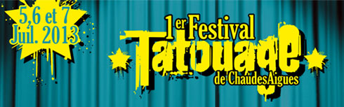 Festival du tatouage de Chaudes-Aigues