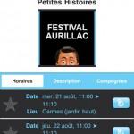Appli festival Aurillac fiche