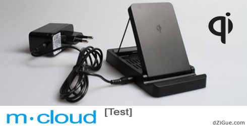 Support et chargeur sans fil pour smartphone