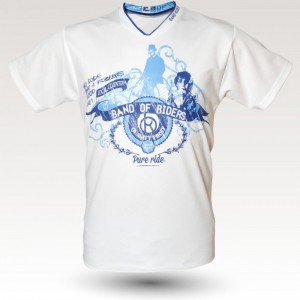 Tee Bor Blue : Band of Riders