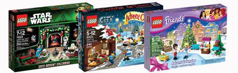 Calendrier de l'avent LEGO 2013