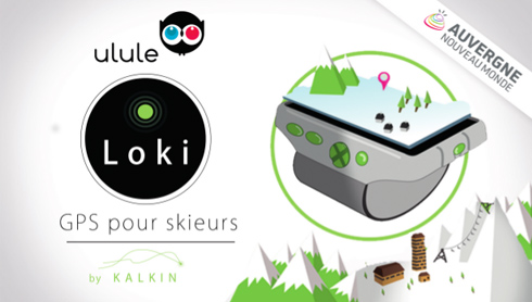 Loki, un GPS connecté pour skieurs