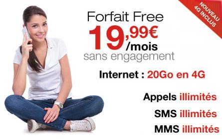 La 4G chez Free Mobile, c'est partie…