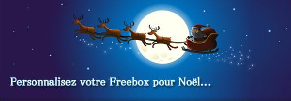 Personnaliser écran Freebox No¨rl
