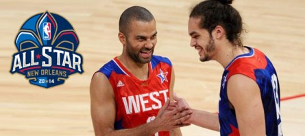 [NBA] Tony Parker et Joakim Noah au All Star Game