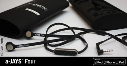 [Test] Écouteurs intra-auriculaires a-JAYS Four pour iPhone