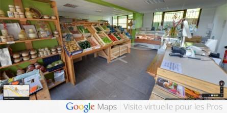 Google Street View à l'intérieur des commerces aurillacois
