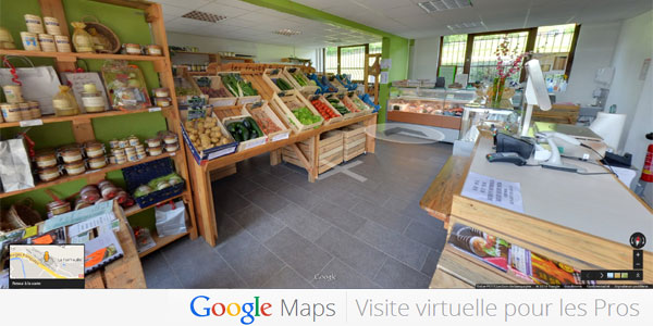 Google Maps Visite virtuelle