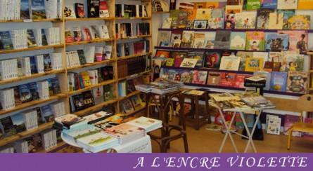 A l'Encre Violette – Librairie aurillacoise