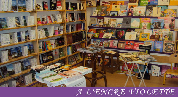 Librairie l'encre Violette Aurillac