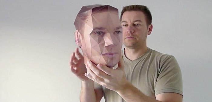 Visage imprimante 3D