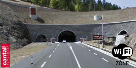 Le Wifi dans le tunnel du Lioran