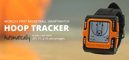 [Basket-ball] Une montre connectée pour travailler son shoot