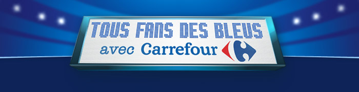 Carrefour bleus