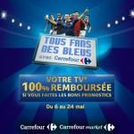TV remboursé Carrefour