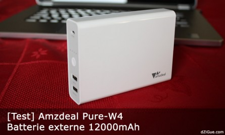Batterie externe haute capacité pour smartphone