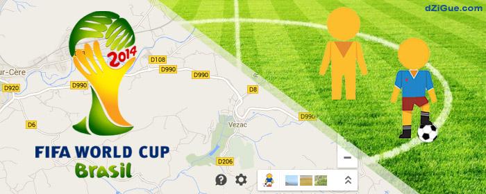 Pegman FIFA World cup