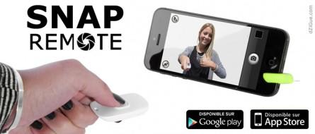 Télécommande pour smartphone