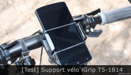 Support vélo iGrip pour smartphone